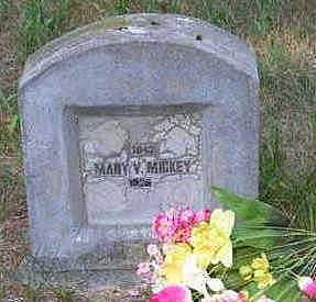 MICKEY, MARY V. - Louisa County, Iowa   MARY V. MICKEY