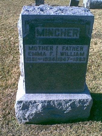 MINCHER, WILLIAM - Louisa County, Iowa | WILLIAM MINCHER