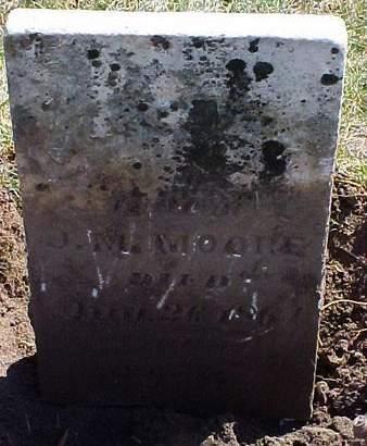 MOORE, MARGARET - Louisa County, Iowa | MARGARET MOORE