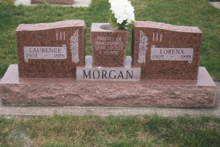 DENNIS MORGAN, LORENA - Louisa County, Iowa | LORENA DENNIS MORGAN
