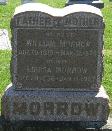 MORROW, LOUISA - Louisa County, Iowa   LOUISA MORROW