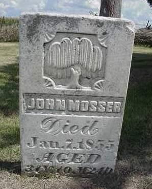 MOSSER, JOHN - Louisa County, Iowa | JOHN MOSSER