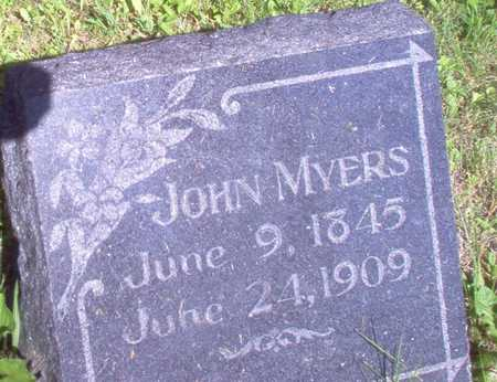 MYERS, JOHN - Louisa County, Iowa | JOHN MYERS
