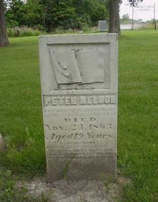 NELSON, PETER - Louisa County, Iowa   PETER NELSON