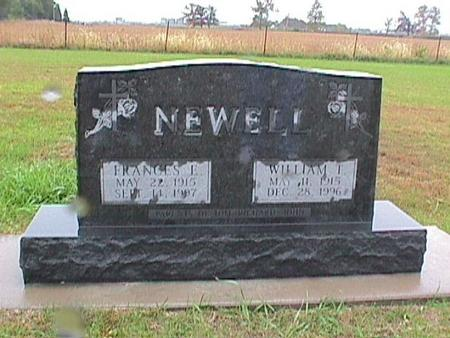 NEWELL, FRANCES - Louisa County, Iowa | FRANCES NEWELL