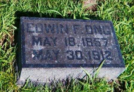 ONG, EDWIN F. - Louisa County, Iowa | EDWIN F. ONG