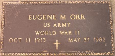 ORR, EUGENE M. - Louisa County, Iowa | EUGENE M. ORR