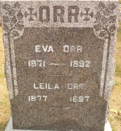 ORR, EVA - Louisa County, Iowa | EVA ORR