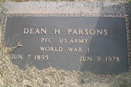 PARSONS, DEAN H. - Louisa County, Iowa | DEAN H. PARSONS