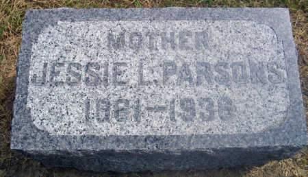 PARSONS, JESSIE L. - Louisa County, Iowa | JESSIE L. PARSONS