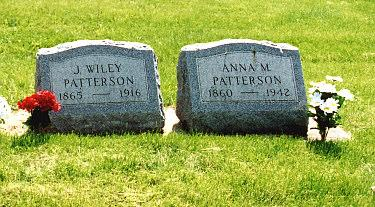 PATTERSON, JAMES WILEY - Louisa County, Iowa | JAMES WILEY PATTERSON