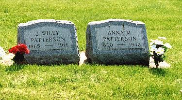 PATTERSON, ANNA M - Louisa County, Iowa | ANNA M PATTERSON