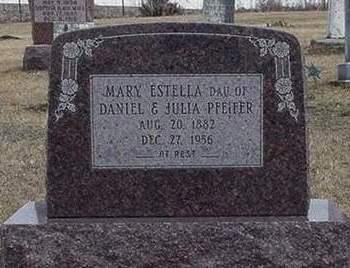 PFEIFER, MARY ESTELLA 'DOLLY' - Louisa County, Iowa | MARY ESTELLA 'DOLLY' PFEIFER