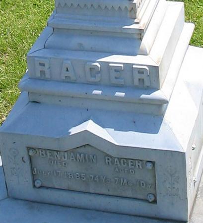 RACER, BENJAMIN - Louisa County, Iowa | BENJAMIN RACER