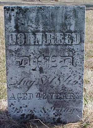 REED, JOHN - Louisa County, Iowa | JOHN REED