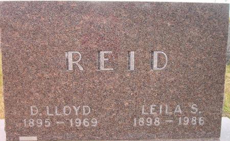 REID, LEILA S. - Louisa County, Iowa | LEILA S. REID