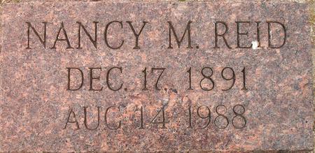 REID, NANCY M. - Louisa County, Iowa   NANCY M. REID