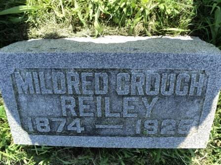 REILEY, MILDRED - Louisa County, Iowa   MILDRED REILEY