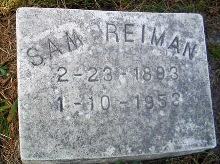 REIMAN, SAM - Louisa County, Iowa | SAM REIMAN
