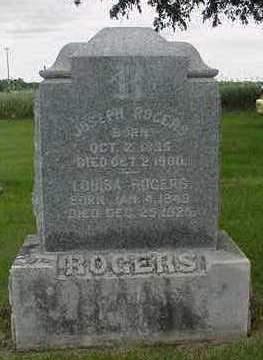 ROGERS, LOUISA - Louisa County, Iowa | LOUISA ROGERS