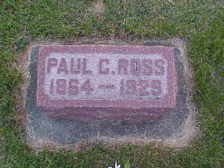 ROSS, PAUL C. - Louisa County, Iowa | PAUL C. ROSS