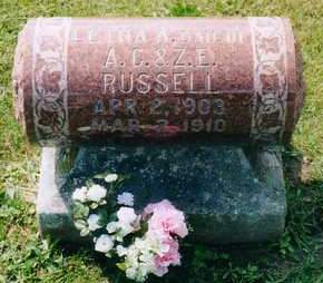 RUSSELL, LETHA - Louisa County, Iowa | LETHA RUSSELL