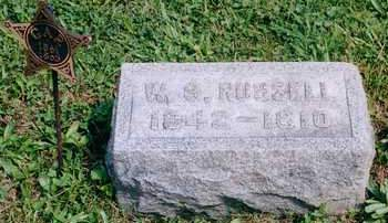 RUSSELL, WILLIAM - Louisa County, Iowa | WILLIAM RUSSELL