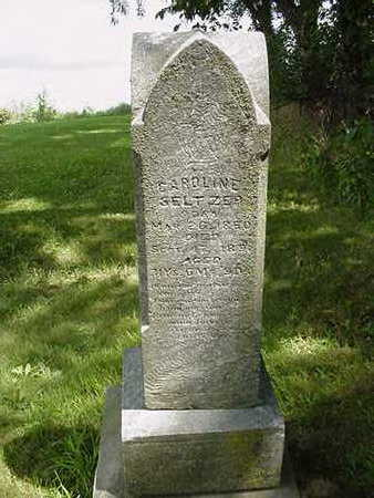 SELTZER, VERDIE ELLA - Louisa County, Iowa | VERDIE ELLA SELTZER