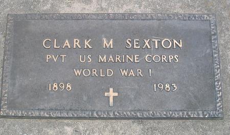 SEXTON, CLARK M. - Louisa County, Iowa   CLARK M. SEXTON