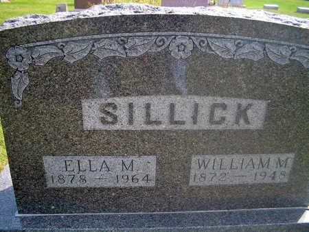 SILLICK, WILLIAM M. - Louisa County, Iowa | WILLIAM M. SILLICK