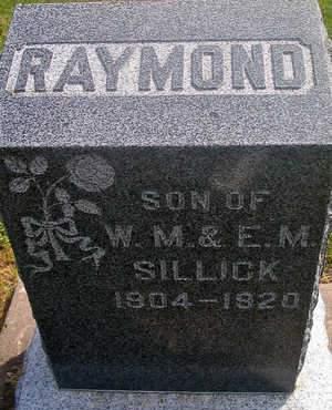 SILLICK, RAYMOND - Louisa County, Iowa | RAYMOND SILLICK