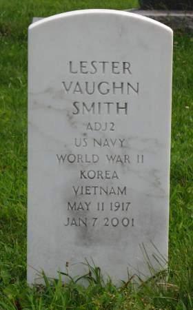 SMITH, LESTER VAUGHN - Louisa County, Iowa   LESTER VAUGHN SMITH