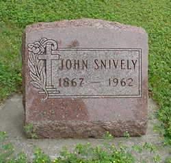 SNIVELY, JOHN - Louisa County, Iowa | JOHN SNIVELY