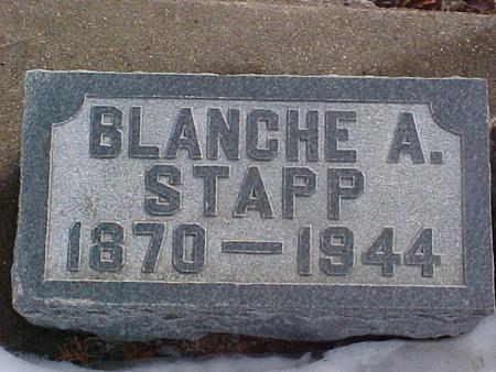 STAPP, BLANCHE A. - Louisa County, Iowa | BLANCHE A. STAPP