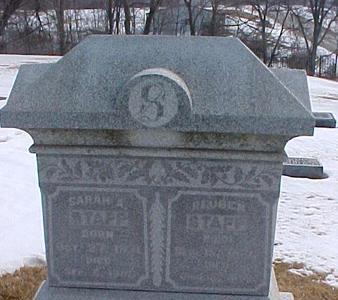 REECE STAPP, SARAH A. - Louisa County, Iowa | SARAH A. REECE STAPP