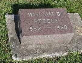 STEELE, WILLIAM B. - Louisa County, Iowa | WILLIAM B. STEELE