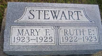 STEWART, RUTH E - Louisa County, Iowa | RUTH E STEWART