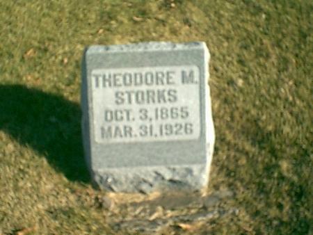 STORKS, THEODORE M. - Louisa County, Iowa | THEODORE M. STORKS