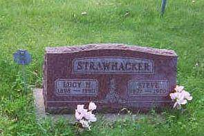 STRAWHACKER, LUCY HATTIE - Louisa County, Iowa | LUCY HATTIE STRAWHACKER
