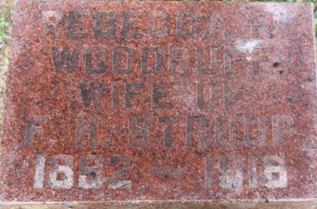 WOODRUFF STROUP, REBECCA R. - Louisa County, Iowa | REBECCA R. WOODRUFF STROUP