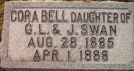 SWAN, CORA BELL - Louisa County, Iowa | CORA BELL SWAN