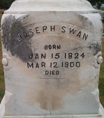 SWAN, JOSEPH - Louisa County, Iowa   JOSEPH SWAN