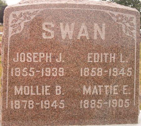 SWAN, EDITH L. - Louisa County, Iowa | EDITH L. SWAN