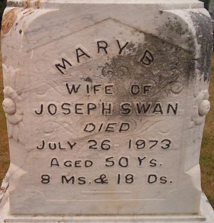 SWAN, MARY B. - Louisa County, Iowa   MARY B. SWAN