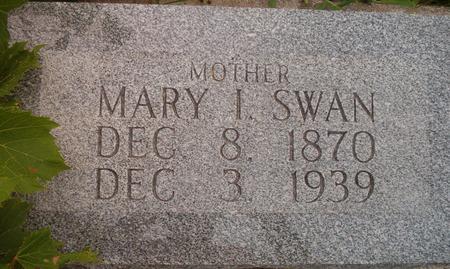 SWAN, MARY I. - Louisa County, Iowa | MARY I. SWAN