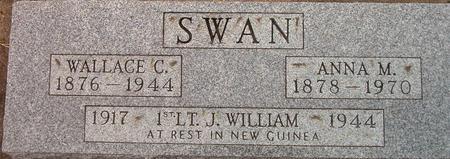 SWAN, ANNA M. - Louisa County, Iowa | ANNA M. SWAN