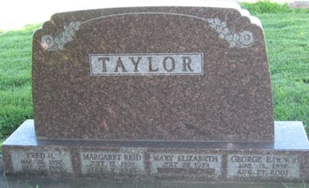 TAYLOR, FRED H. - Louisa County, Iowa   FRED H. TAYLOR