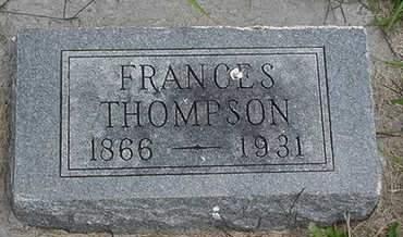 THOMPSON, FRANCES - Louisa County, Iowa   FRANCES THOMPSON