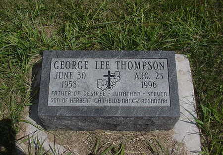 THOMPSON, GEORGE LEE - Louisa County, Iowa | GEORGE LEE THOMPSON