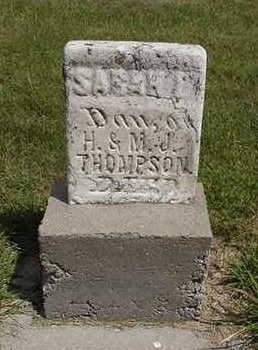 THOMPSON, SARAH - Louisa County, Iowa | SARAH THOMPSON